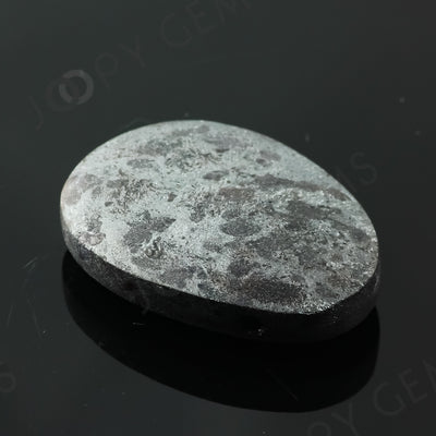 Joopy Gems Specularite Freesize Oval Bead/Slice, 123.055 carats, 37.6x26.8x9.5mm, CFRSPEC6