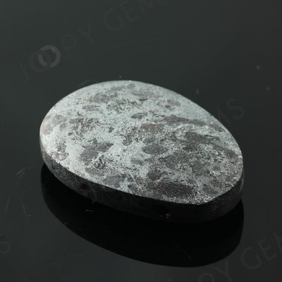 Joopy Gems Specularite Freesize Oval Bead/Slice, 123.055 carats, 37.6x26.8x9.5mm, CFRSPEC7