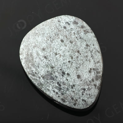 Joopy Gems Specularite Freesize Oval Bead/Slice, 163.685 carats, 39.9x31x11.2mm, CFRSPEC5