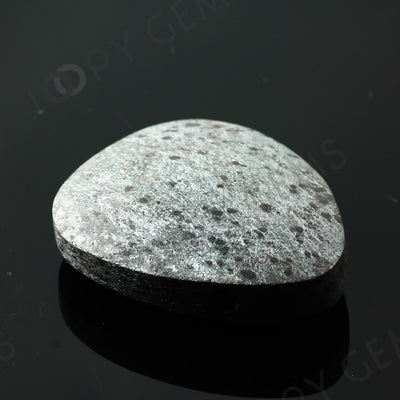 Joopy Gems Specularite Freesize Oval Bead/Slice, 163.685 carats, 39.9x31x11.2mm, CFRSPEC8