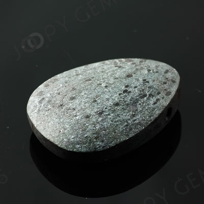 Joopy Gems Specularite Freesize Oval Bead/Slice, 163.685 carats, 39.9x31x11.2mm, CFRSPEC9
