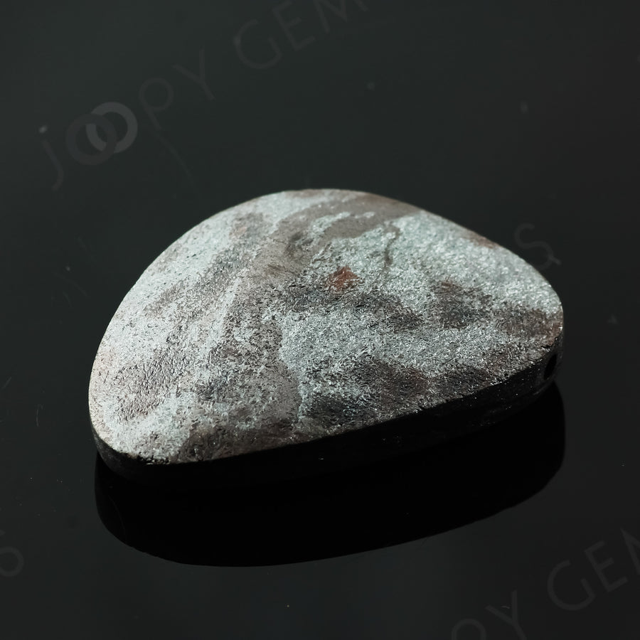 Joopy Gems Specularite Freesize Oval Bead/Slice, 167.035 carats, 40.2x30.3x9.5mm, CFRSPEC6