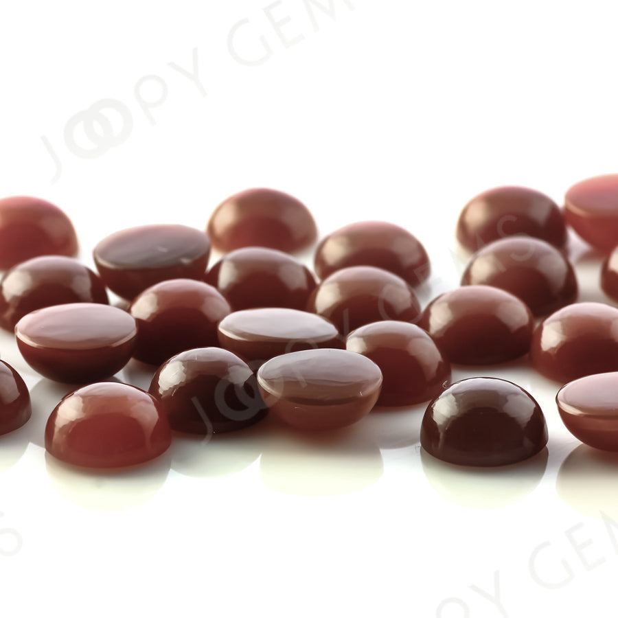 Joopy Gems Brown Moonstone Cabochon 10mm Round