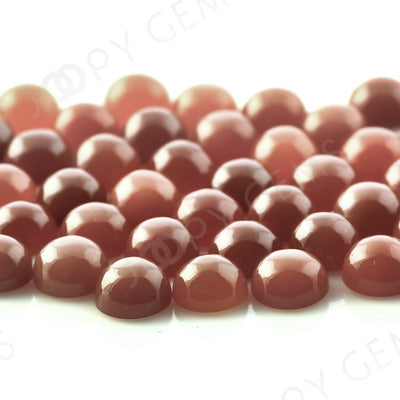 Joopy Gems Brown Moonstone Cabochon 6mm Round