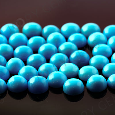 Joopy Gems Turquoise Cabochon 5mm Round