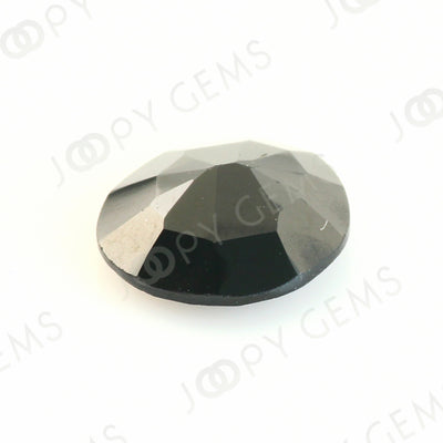 Joopy Gems Black Spinel Rose Cut Freeform, 1.960 carats, 8.8x8x3.3mm, PFRSPIB45