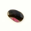 Joopy Gems Tourmaline Rose Cut Freeform, 1.33 carats, 11.7x7.7x1.9mm