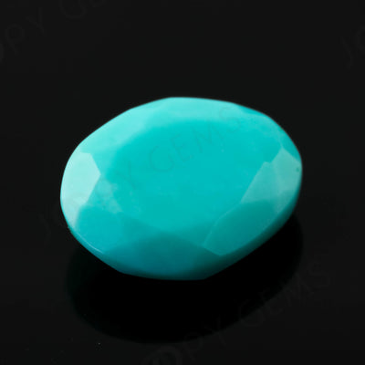 Joopy Gems Turquoise Rose Cut Freeform, 1.74 carats, 10x8.3x3.3mm, PFRTUQ118