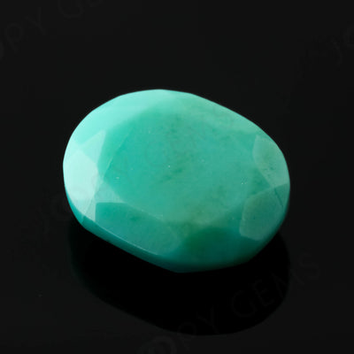 Joopy Gems Turquoise Rose Cut Freeform, 1.93 carats, 10.1x8.4x3.4mm, PFRTUQ119