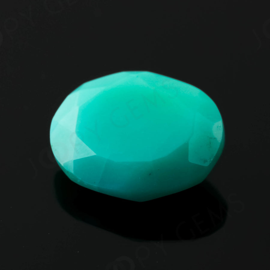 Joopy Gems Turquoise Rose Cut Freeform, 1.96 carats, 10x8.3x3.6mm, PFRTUQ124
