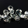 SALE 536 White Topaz Brilliant Cut 10mm Round - per lot of 2 stones