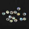 SALE 436 Labradorite Rose Cut 3mm Round lot of 12 stones