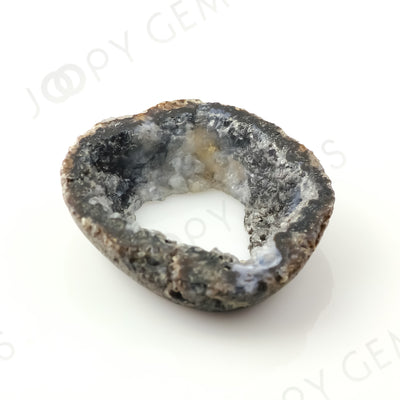 Joopy Gems Crystal Freeform Bead/Slice, 27.365 carats, 31.5x30x7.5mm, SLDRZC10