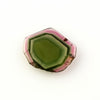 Joopy Gems Watermelon Tourmaline slice, 2.245 carats, 11.6x9.4x2.3mm