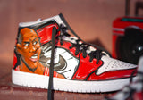 CUSTOM Cartoon Jordan 1s Michael Jordan The Last Dance Men size 10