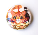 Pancake Cat Button