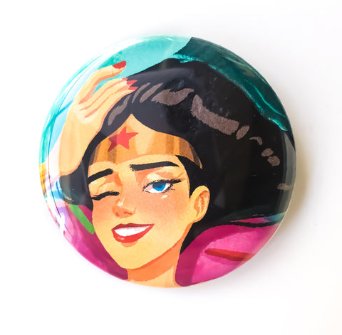 Wonder Woman Button