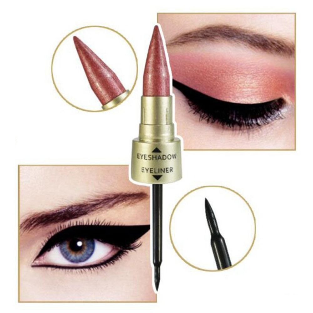 Double-End 2-In-1 Pearly Glimmer Waterproof Eyeshadow - Sheseelady