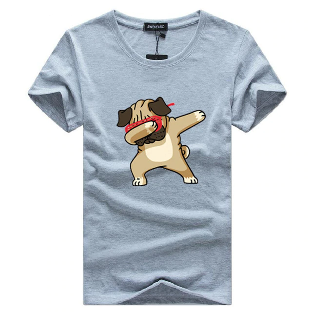 Fashion Animal Dog Print Hipster Funny T Shirt - Sheseelady