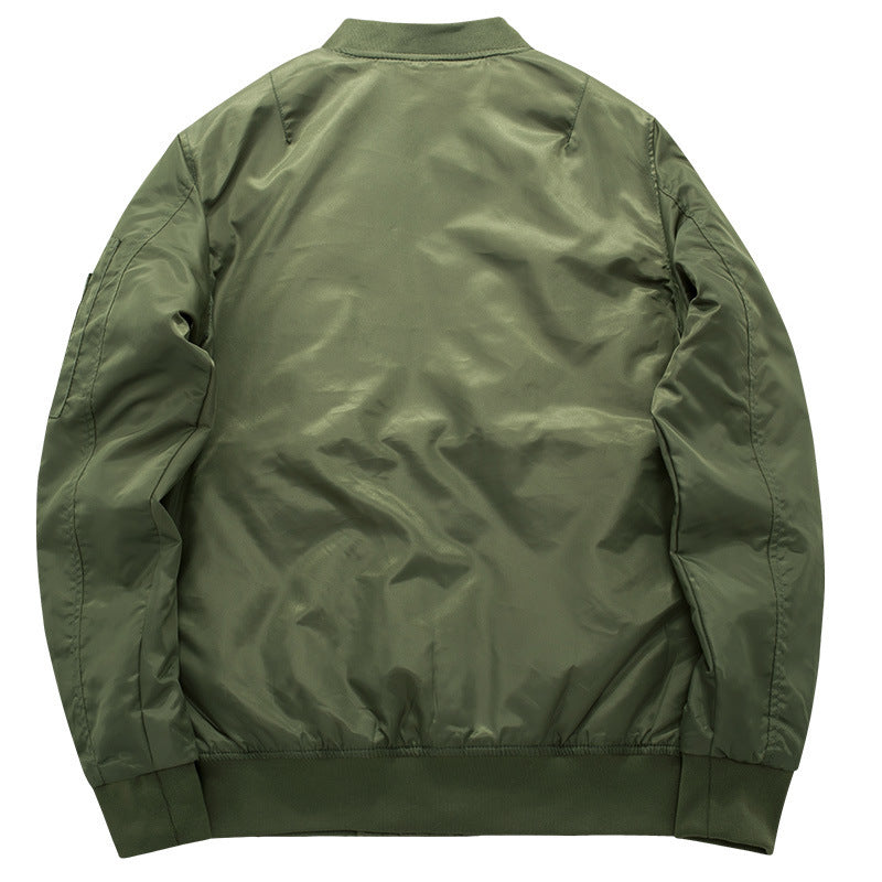 High Quality Thick And Thin Army Green Military Jacket