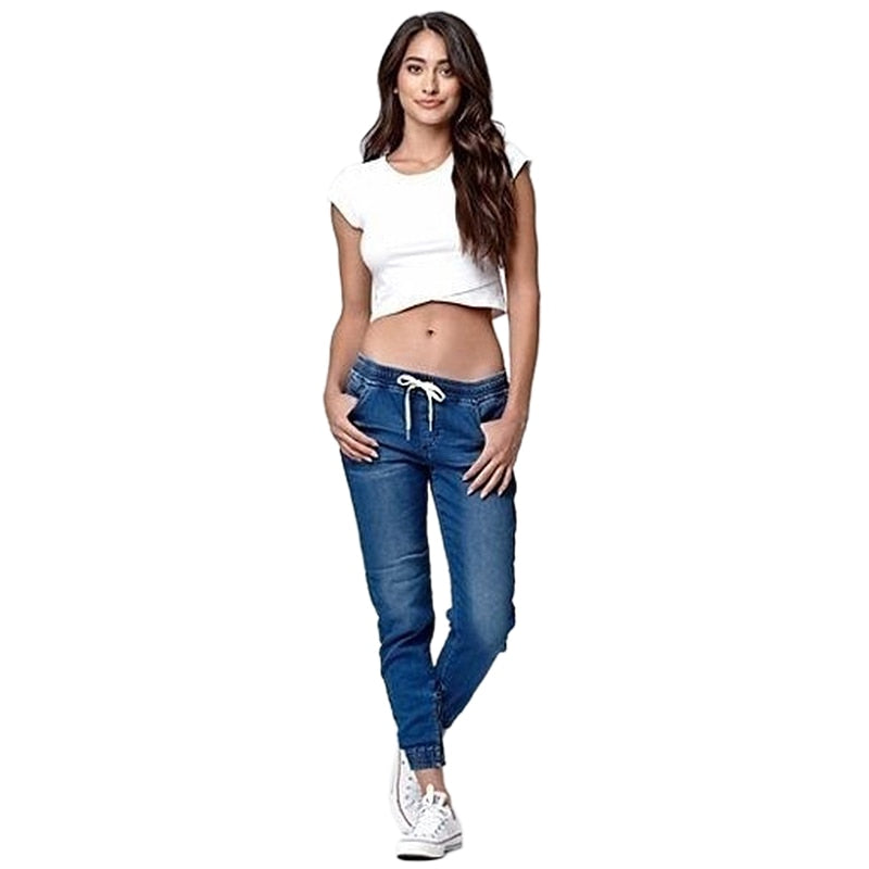 New Autumn Vintage High Waist Loose Jeans
