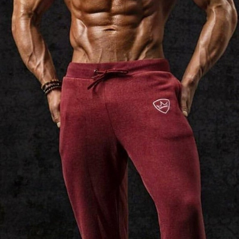 Thin Section Pants Casual Bodybuilding Trouser For Men