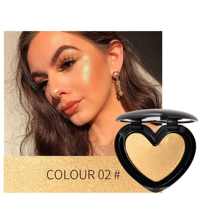 Beauty Makeup Shimmer Highlighter Iluminador Contouring Face - Sheseelady