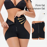 Zipper Hook Butt Lifter Body Shaper Tummy Control Enhancer Sexy Thong Short