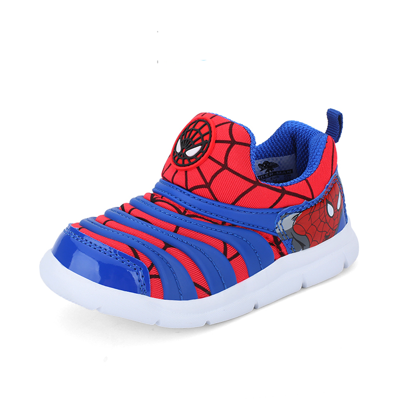Summer Spider-Man Children Shoes For Unisex