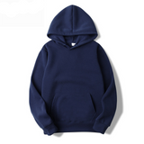 New Casual Pink Black Gray Blue Hoodie Hip Hop Street Wear
