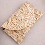Summer Style Corn Peels Straw Handmade Bohemian Beach Bag