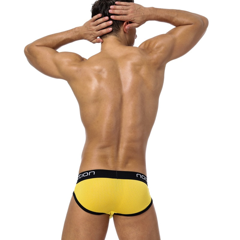 Quick-Dry Sexy Men Briefs Breathable Mens Slip Cueca Panties