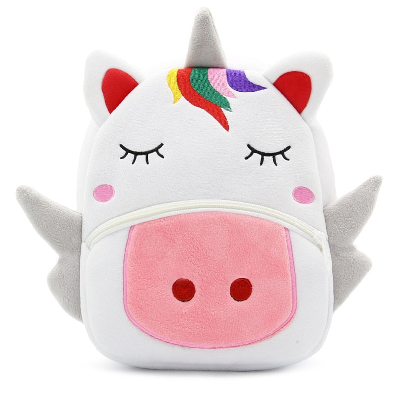 Cartoon Rainbow Unicorn Kids School Bags For Girls And Boys - Sheseelady