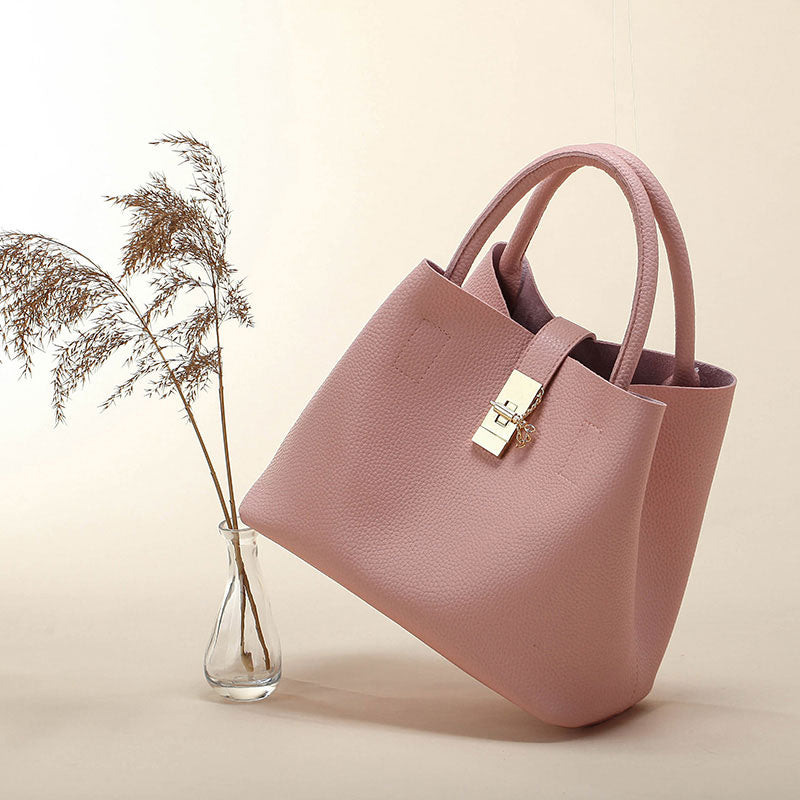 Vintage Women'S Handbags Famous Fashion Brand Candy Shoulder Bags Ladies Totes Simple Trapeze Women Messenger Bag