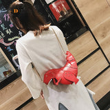 Rivet Personality Dinosaur Design Fashion Leather Crossbody Mini Messenger Bag Women Chain Purse Female Shoulder Bag Gift