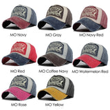 Snap-Back Cotton Baseball Cap