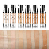 Liquid Foundation Foundation Concealer Makeup Waterproof - Sheseelady