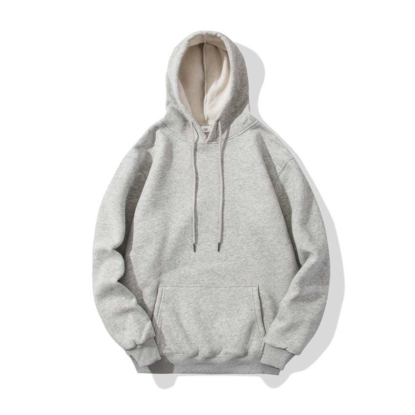 Spring Autumn Fashion Brand Men'S Hoodies Male Casual Sweatshirts Men Solid Color Sweatshirt Tops
