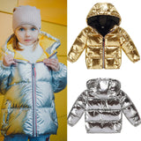 Children Winter Jacket Casual Hooded Coat - Sheseelady