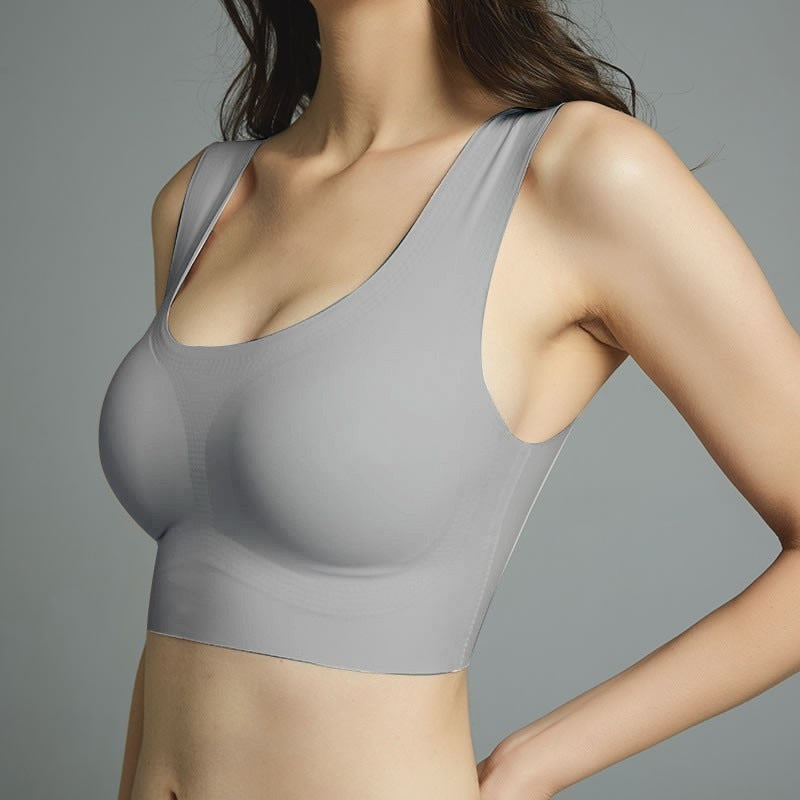 Thin Seamless Push Up Bra