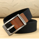 New Canvas Belt Outdoor Tactical Men&Women High Quality Canvas Alloy Buckles Belts For Jeans Male Fashion Casual Belt