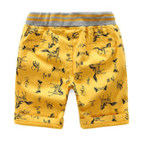 Cartoon Printed Horse Summer Shorts For Unisex Kids - Sheseelady