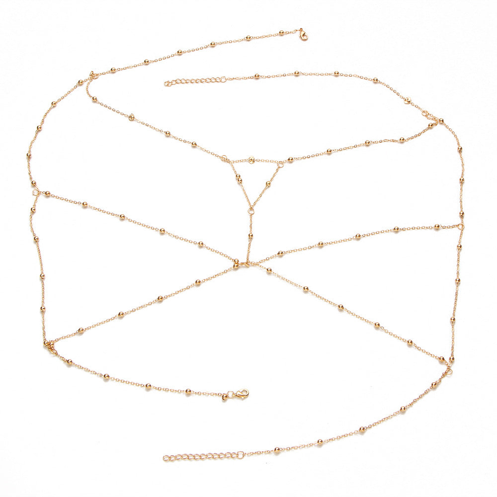 Body Chain Cross Beads Jewelry For Women - Sheseelady