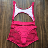 Mesh Neon Swimsuit Two Pieces High Waisted Bikini