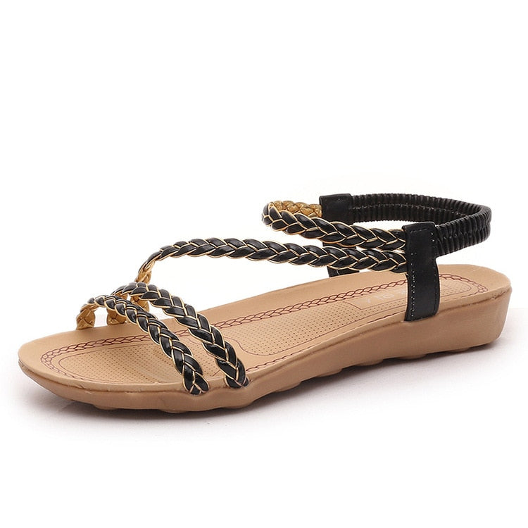 Women Sandals Plus Size Summer Women Shoes Woman Flip Flops Ladies Flat Sandals Chaussure Sandalias