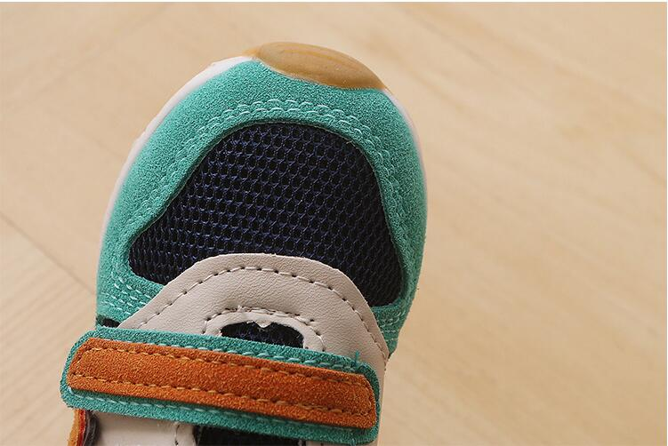New Sport Net Mesh Breathable Casual Sneakers For Kids