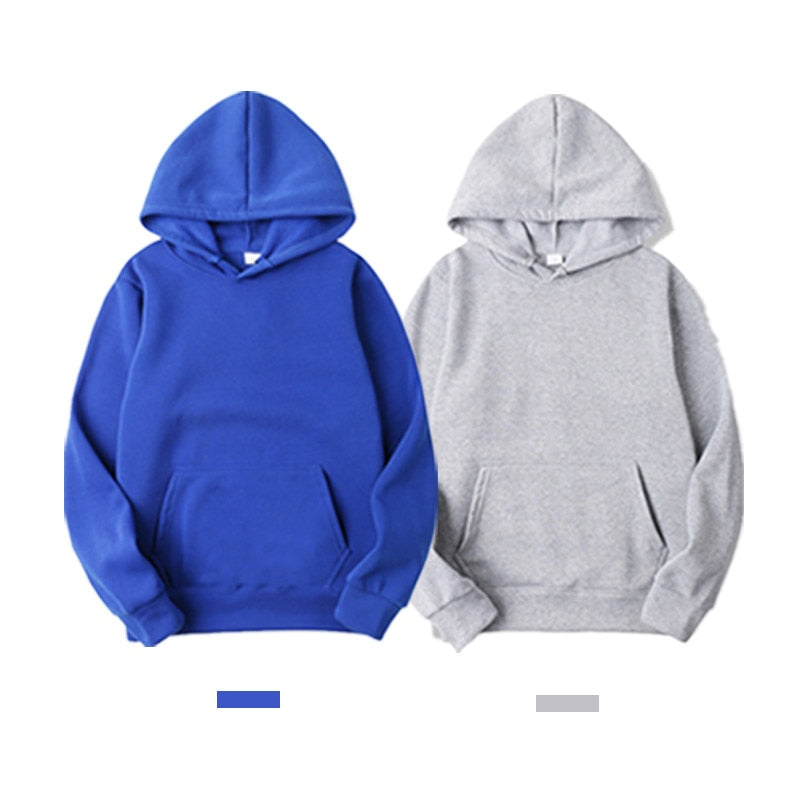 Casual Sweatshirts Solid Color Hoodies Sweatshirt Tops For Men'S