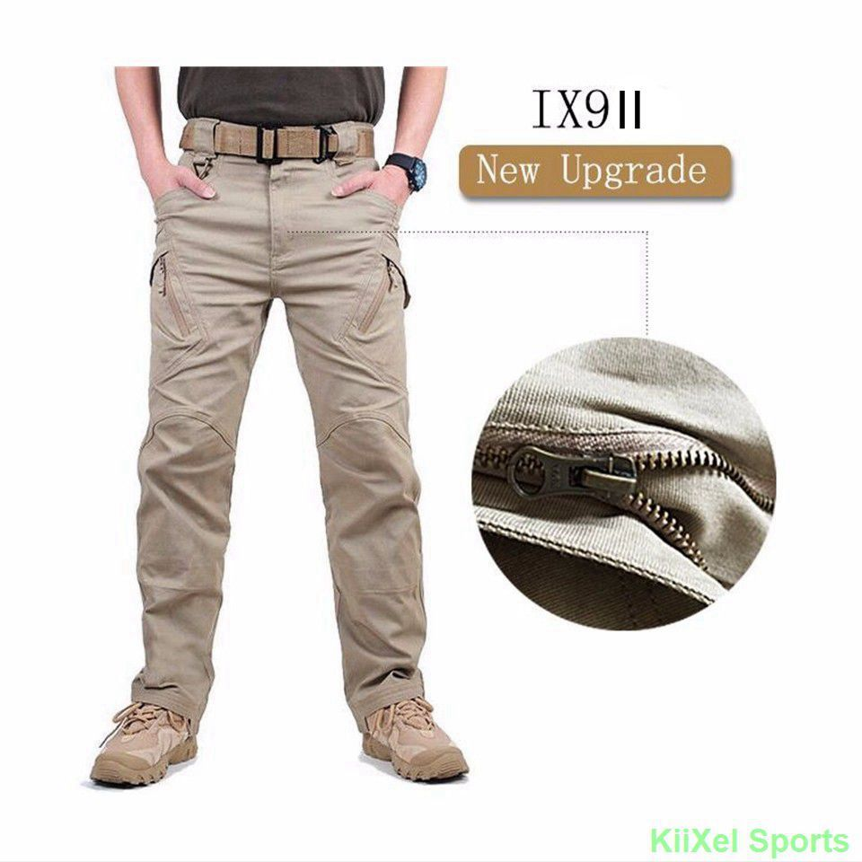 Pants Combat Trousers Swat Army Military Pants Cargo Casual Cotton Trousers