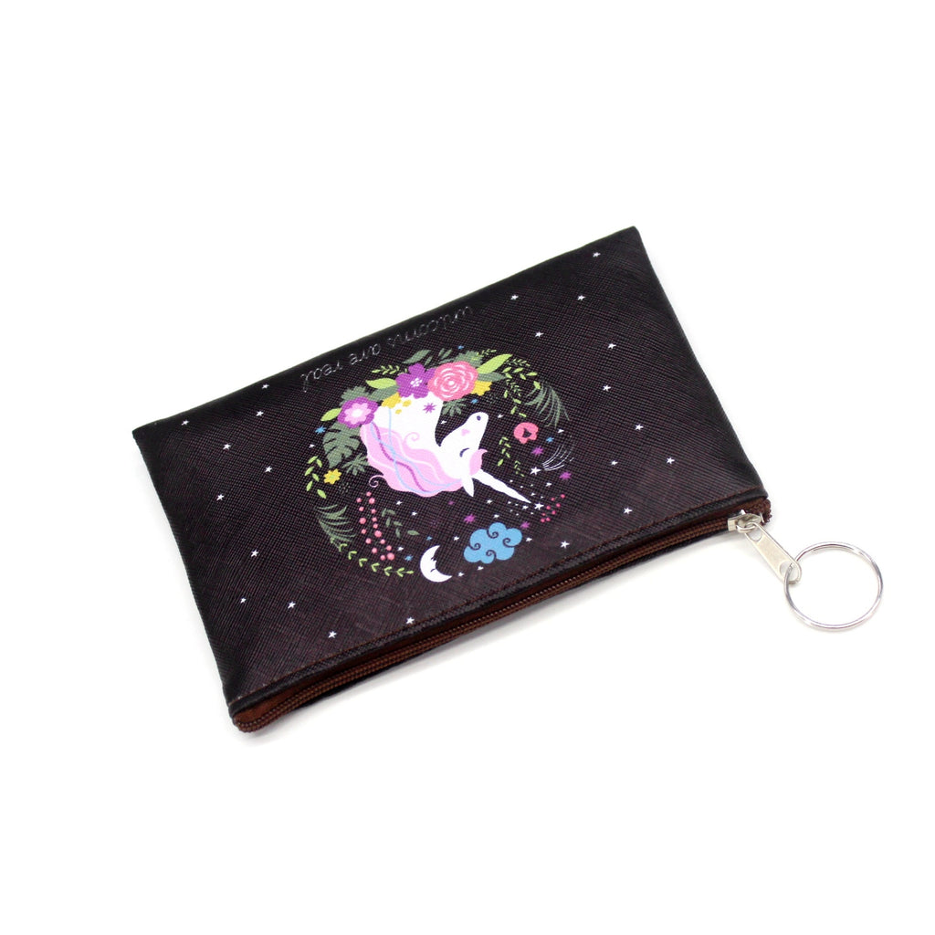 Cartoon Unicorn Coin Purses Women Mini Wallets Cute Card Holder Ladies Key Money Bags For Girls Purse Female Kids Children Pouch - Sheseelady