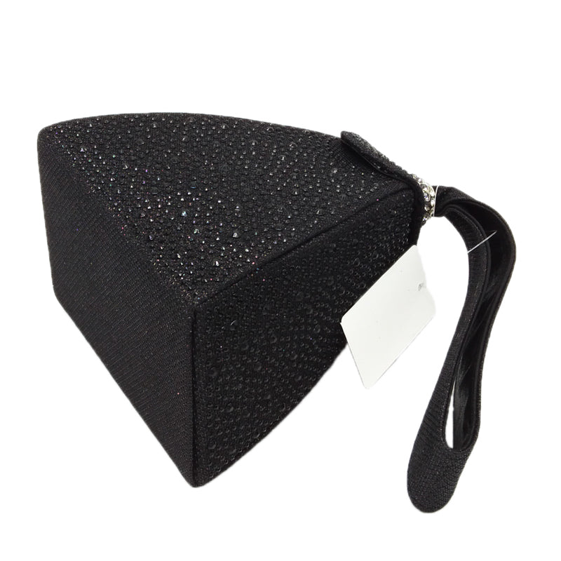 Polyester Pyramid Style Vintage Diamond Bridal Wedding Purse And Multi Function Bag